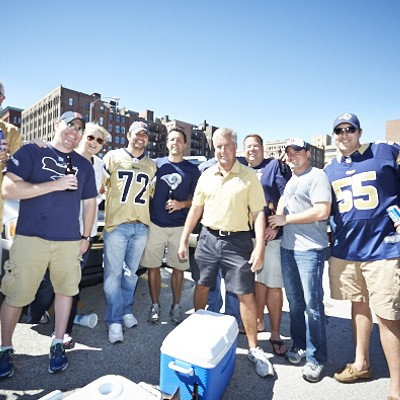 The Hungriest Fans at the 2014 Rams Home Opener