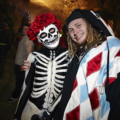 Costumes, EDM and Fire at Crystal City Underground
