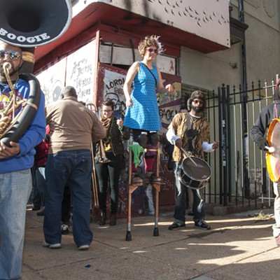Cherokee Street Jazz Crawl 2014