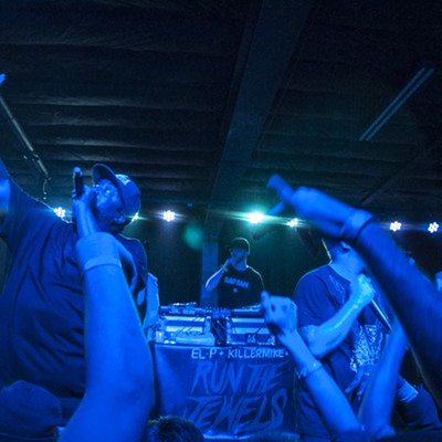 Run the Jewels Talks Ferguson at the Ready Room