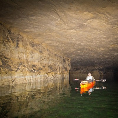 Crystal City Underground Kayak Tour