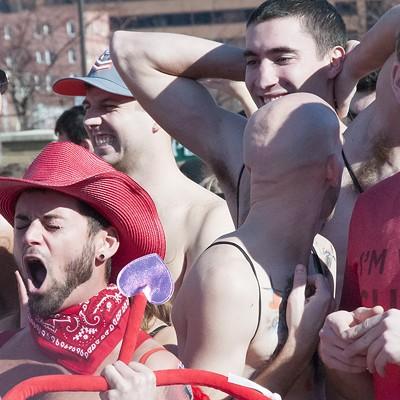 2015 Cupid's Undie Run in St. Louis