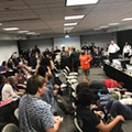 STLCC Trustees Approve Layoffs as Meeting Turns into a Shitshow