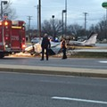 Plane Crashes Into Chesterfield BP Station, Killing Pilot