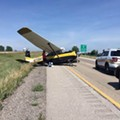 A Plane and Car Collided on I-55, But Somehow Everyone Was OK
