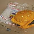 "All American ""Fun"" Burger Mallow Giant Size Burger"