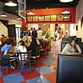 Creative Fusion: No joke, at Café Lazeez you can get chicken tandoori and chicken tikka as pizza toppings