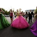 Hoop Dreams: East of St. Louis, the prom attire is right out of <i>Gone with the Wind</i>