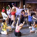 <i>Godspell</i> at the Fontbonne University Fine Arts Center Theatre, closes December 11