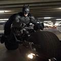 Self-important and overstuffed, <i>The Dark Knight Rises</i> feels like Batman forever
