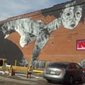 PHOTOS: Faring Purth's Cherokee Street Mural is Mesmerizing and It's Not Even Done Yet