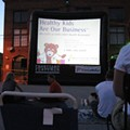 Last Night: Zombie Double Feature at the Schlafly Tap Room (Parking Lot)