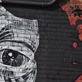 PHOTOS: Faring Purth's Completed Cherokee Street Mural Is Haunting, Eerily Beautiful