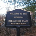 DeBaliviere Place Apartments, Commercial Space Up For Auction