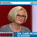 Rachel Maddow to Claire McCaskill: You Could Be the Next President [VIDEO]