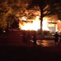 Video: Fenton House Explodes and Burns Early This Morning