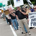 Monsanto Protesters Picket Against GMOs, Honey Bee Deaths at Headquarters [PHOTOS]