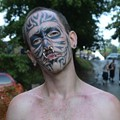 Gathering of Juggalos: Tattoo-Faced Man From Viral Mugshot Cuts Off Nipple, Staples Body