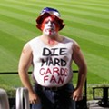 "Die Hard Cards Fan: The Most Embarrassing Redbirds Fan Since ""Get A Brain Morans"" Guy?"