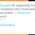 """Grammar Police"" Celebrate National Grammar Day With Smugness"