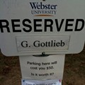 [UPDATE] Webster University: Snarky Parking Sign Greeted with Even Snarkier Response