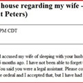 """You Called My House Regarding My Wife"": Another Week in craigslist Missed Connections"