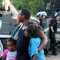[PHOTOS]: Tear Gas and Terror During Wednesday Night's Ferguson Protest