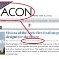 Old Habits Die Hard: Local Online Paper Confuses Its Name