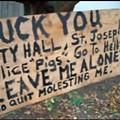 St. Joseph Man <i>Really</i> Unhappy with Police