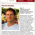 Local Drummer Patrick Hawley Could Be <em>Redbook</em>'s Hottest Husband -- With Your Help!