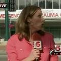 What Channel 5 Reporter Ann Rubin Looks Like When She's Terrified