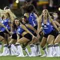 The 2008-2009 SLU Cheerleaders...