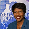 "Gwen Ifill and PBS ""News Hour"" Crew Filming in St. Louis"