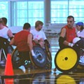 Wheelchair Rugby Players Go All The Way