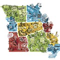 The Nine Distinct States That Make Up Missouri