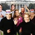 Political Halloween Masks: An Election Predictor!