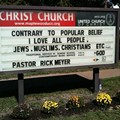 God Even Loves Jews and Muslims, Church Sign Confirms