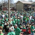 Not-Quite-Live Blogging: St. Paddy's Day in Dogtown