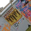 Westminster College Students Recreate, Then Tear Down, the Berlin Wall