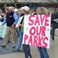 Hundreds Rally to Save St. Louis County Parks