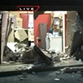 Thieves Ram Car into Brick Wall of Rent-to-Own Store in St. Louis, Cops Say (PHOTOS)