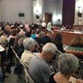 Crowd Packs Hearing on Controversial Contract Between Water Division and Veolia (VIDEO)
