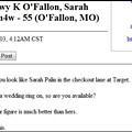 You're Like Sarah Palin, But Hotter!