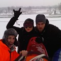 Sledding Conditions on Art Hill: KICKASS!!!