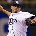Matt Garza Throws Pitch Through Catcher, Wall, Time