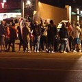 VIDEO: A Night of Anger, Violence in Ferguson After Michael Brown Memorial Burns