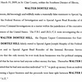 Walter D. Hill: Former East St. Louis Official Sentenced to Five Years in Prison