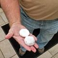 Crazy Golf-Ball-Size Hail Pummels Far West St. Louis County