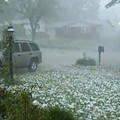 Saturday Evening's Hail Storm, with Narration
