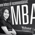Mizzou Student Surprised to Find Herself the Face of Webster University